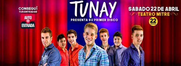 TUNAY presenta su disco en el Teatro Mitre